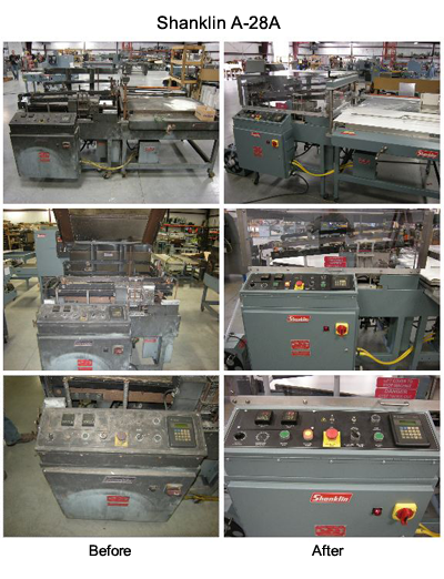 Photo: Continuous Motion Packaging - Before and After Photos of a Shanklin A-28A